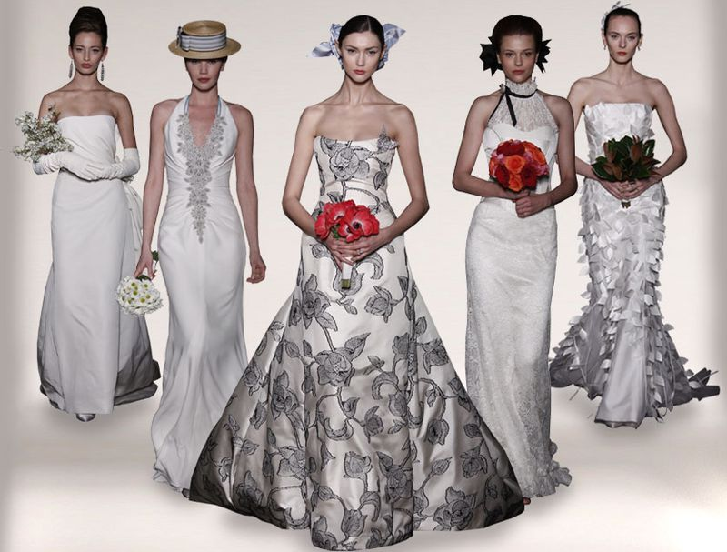Tendencias 2010: vestidos de novia por Carolina Herrera
