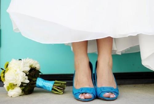 Agrega color a tu vestido de novia