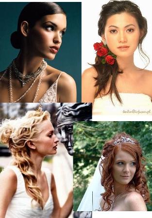Como elegir el peinado ideal para tu boda