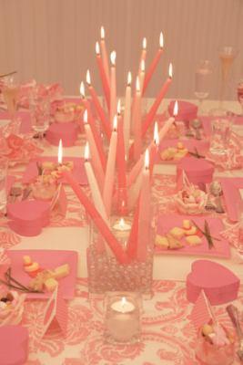 Centros de mesa fáciles para tu boda