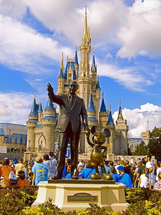Disney, Magia, Reino, Florida, Orlando, Hito, Mágico