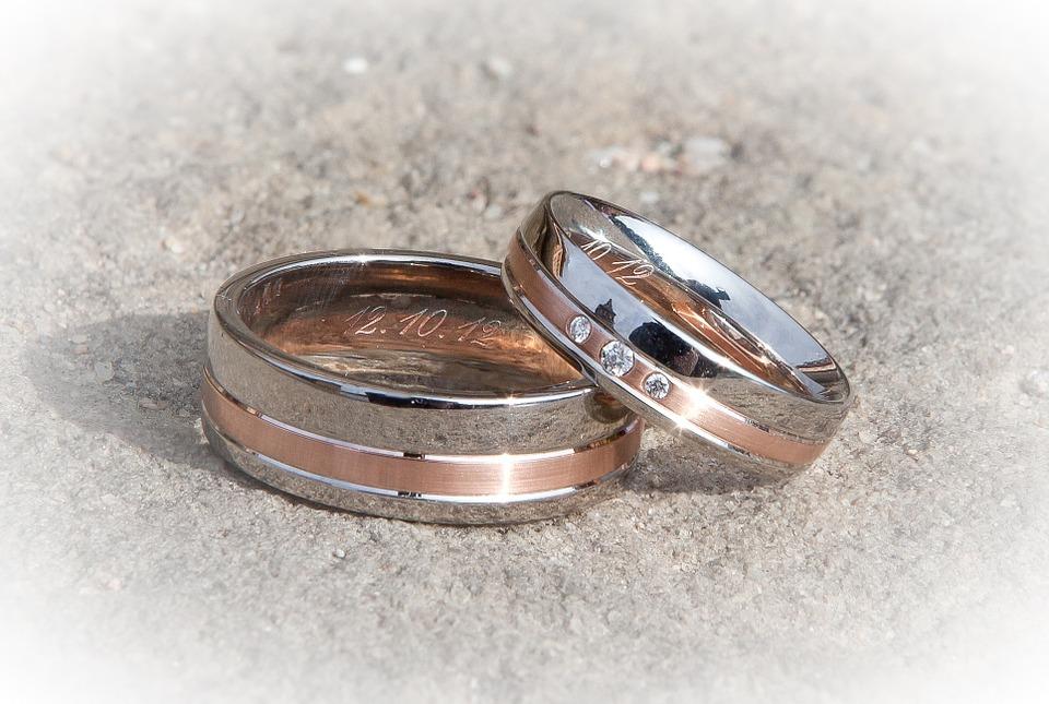 Anillo, De La Boda, Anillos De Boda, Matrimonio
