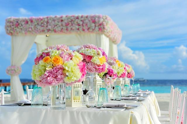 Celebración de bodas en carpas